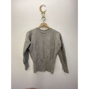 Modern Citizen Crew Neck Long Sleeve Sweater Gray